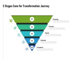 5 Stages Cone For Transformation Journey