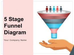5 Stages Funnel Diagram Automation Business Process Organizational Development Management