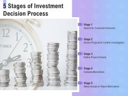 5 Stages Of Investment Decision Process