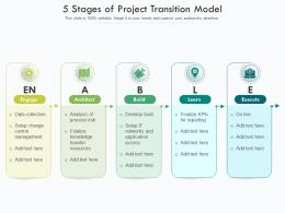 5 Stages Of Project Transition Model