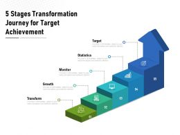5 Stages Transformation Journey For Target Achievement