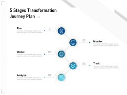 5 Stages Transformation Journey Plan