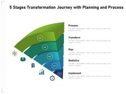 5 Stages Transformation Journey With Planning And Process
