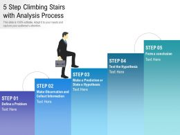 5 Step Climbing Stairs With Analysis Process