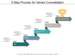 5 Step Process For Vendor Consolidation