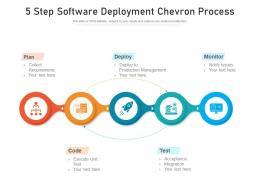 5 Step Software Deployment Chevron Process