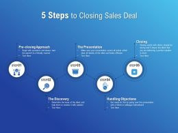 5 Steps To Closing Sales Deal