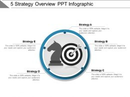 5 Strategy Overview Ppt Infographic