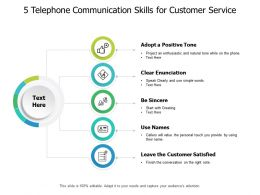 5 Telephone Communication Skills
