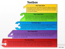 5 Textbox For Process Flow