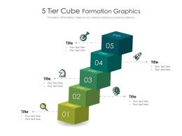 5 Tier Cube Formation Graphics