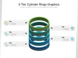 5 Tier Cylinder Rings Graphics