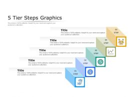 5 Tier Steps Graphics