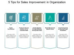 5 Tips For Sales Improvement In Organization