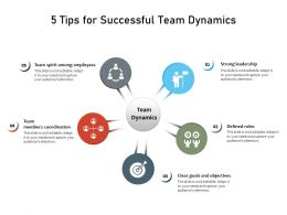 5 Tips For Successful Team Dynamics
