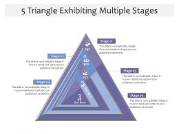 5 Triangle Exhibiting Multiple Stages