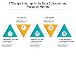 5 Triangle Infographic For Data Collection And Research Method