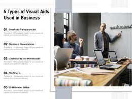 5 Types Of Visual Aids Used In Business