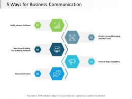 5 Ways For Business Communication