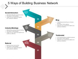 5 Ways Of Building Business Network
