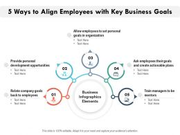 5 Ways To Align Employees With Key Business Goals