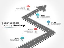 5 Year Business Capability Roadmap