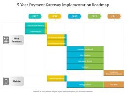 5 Year Payment Gateway Implementation Roadmap
