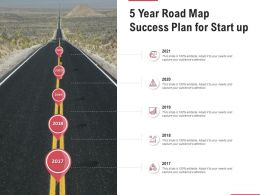 5 Year Road Map Success Plan For Start Up