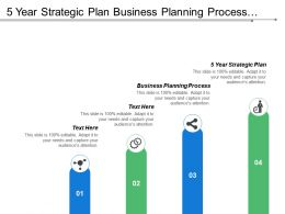 5 Year Strategic Plan Business Planning Process Long Term Strategy Cpb