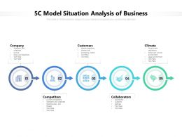 5C Model Situation Analysis Of Business