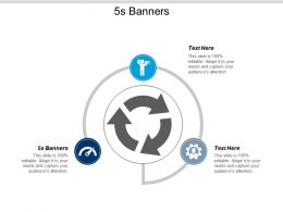 5s Banners Ppt Powerpoint Presentation Pictures Designs Cpb