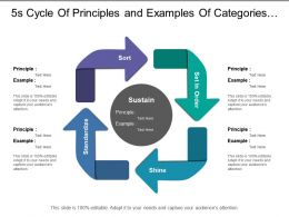 5s Cycle Of Principles And Examples Of Categories Sort Shine Standardize And Set