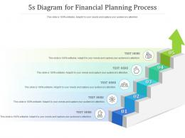 5s Diagram For Financial Planning Process Infographic Template