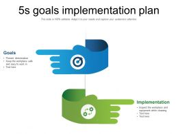 5s Goals Implementation Plan