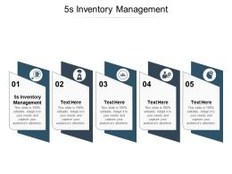 5s Inventory Management Ppt Powerpoint Presentation Layouts Tips Cpb