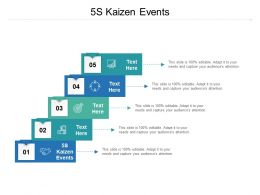 5S Kaizen Events Ppt Powerpoint Presentation Layouts Images Cpb