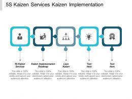 5s Kaizen Services Kaizen Implementation Roadmap Lean Kaizen Cpb