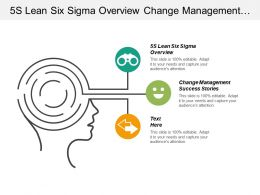 5s Lean Six Sigma Overview Change Management Success Stories Cpb