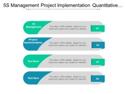 5s Management Project Implementation Quantitative Qualitative Risk Analysis Cpb