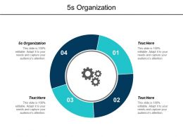 5s Organization Ppt Powerpoint Presentation Pictures Introduction Cpb