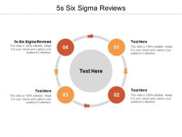 5s Six Sigma Reviews Ppt Powerpoint Presentation Icon Slide Portrait Cpb