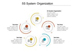 5S System Organization Ppt Powerpoint Presentation Show Sample Cpb