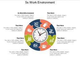 5s Work Environment Ppt Powerpoint Presentation Icon Inspiration Cpb