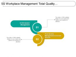 5s Workplace Management Total Quality Management Customer Service Cpb