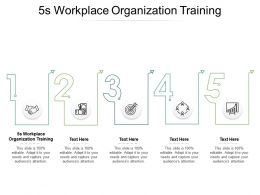 5s Workplace Organization Training Ppt Powerpoint Presentation Microsoft Cpb