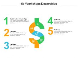 5s Workshops Dealerships Ppt Powerpoint Presentation Gallery Show Cpb