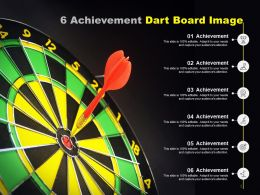 6 Achievement Dart Board Image