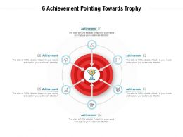 6 Achievement Pointing Towards Trophy