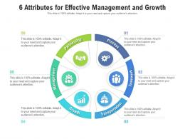 6 Attributes For Effective Management And Growth
