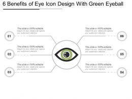 6 Benefits Of Eye Icon Design With Green Eyeball